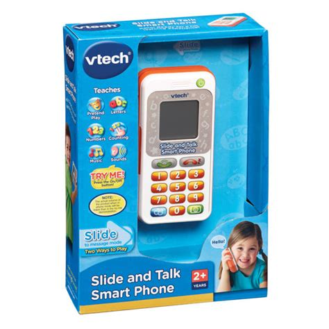 Vtech Animal Slide Phone vtech slide and talk smart phone toys zavvi