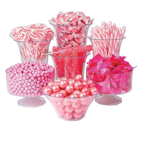 Chinese New Year Home Decor pink candy buffet assortment oriental trading