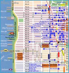 new york new york hotel map travel map vacations