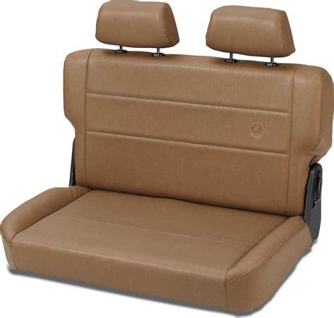 jeep seats fold bestop 174 trailmax ii fold tumble rear bench seat in