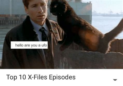 10 of the best x files episodes to watch before it returns page 2 hello are you a ufo top 10 x files episodes hello meme