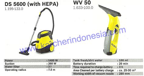 Vacuum Cleaner Di Jakarta karcher window vacuum wv 50 water filter vacuum ds 5600 karcher cleaner equipment berkat