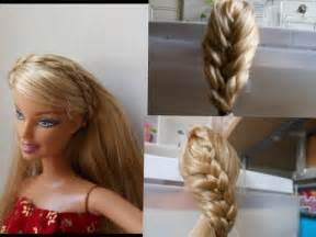 how to make doll hairstyle 2 braid stuff