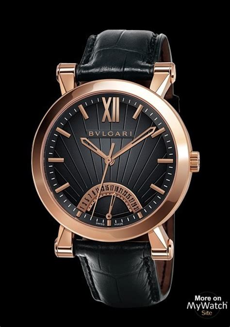 Fab Site Bulgaricom by Bvlgari Sotirio Bulgari Retrograde Date Made Of Pink