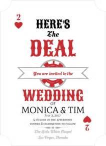 las vegas wedding invitations invitation wording ideas
