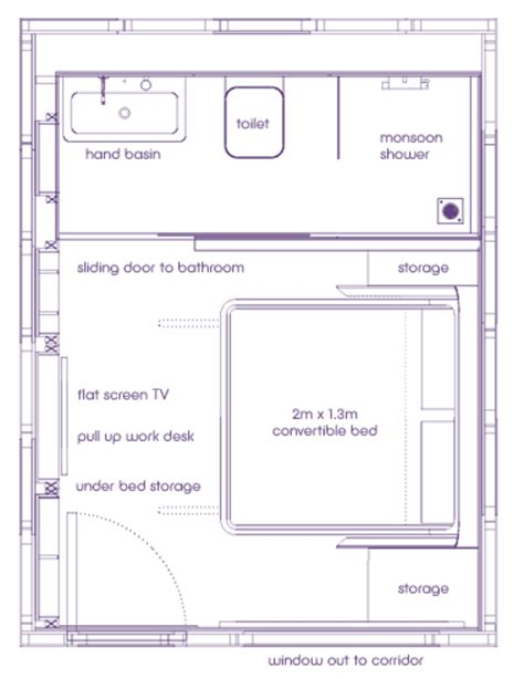 tune hotel room layout pod hotels yotel guestroom layouts