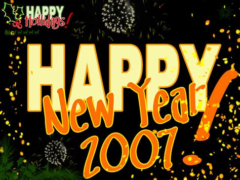 2007 Year Of The New by Happy New Year 2007 By Alvarez On Deviantart