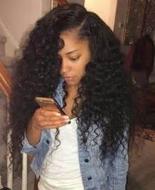 sewin curly hair wave best 25 curly sew in weave ideas on pinterest curly