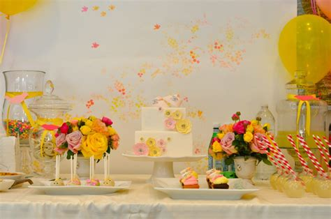 Baby Shower Decorations Yellow by Baby Shower Food Ideas Baby Shower Ideas Pink And Yellow