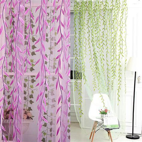 scarf valances for living room wicker tulle voile door window curtain for living room drape panel sheer scarf valances