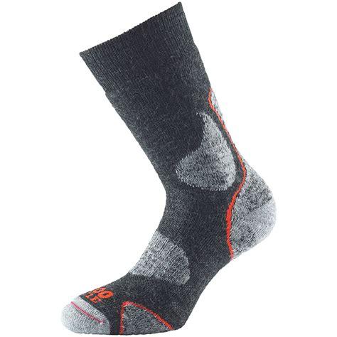 walking socks 1000 mile mens 3 season merino wool walking sock warm soft padded socks charcoal ebay