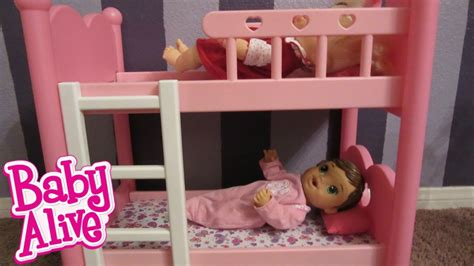 baby alive bed baby alive bunk beds from you me great for baby alive