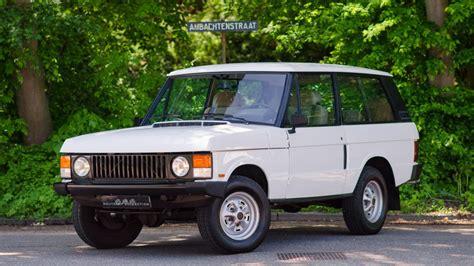 range rover 3 porte consignatie oldtimer of youngtimerrange rover classic 1987