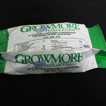 Pupuk Daun Npk Growmore 32 10 10 Repack 10 Gr jual pupuk growmore 32 10 10 100 gram bibitbunga