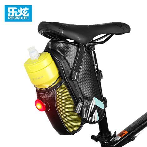 Tas Sepeda Waterproof roswheel tas sepeda waterproof dengan backlight black