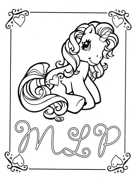 my little pony coloring pages cheerilee 1000 images about coloring pages scanned on pinterest