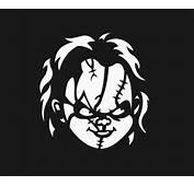 Chucky Childs Play Horror Film Silhouette Custom Decal