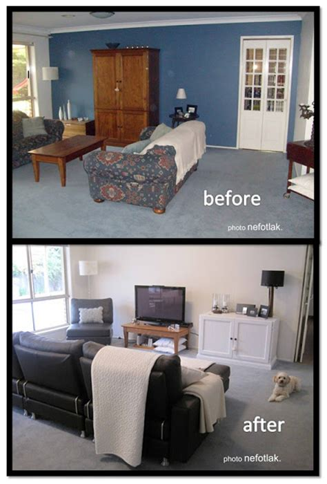 room makeover before and after nefotlak lounge room makeover before after photos