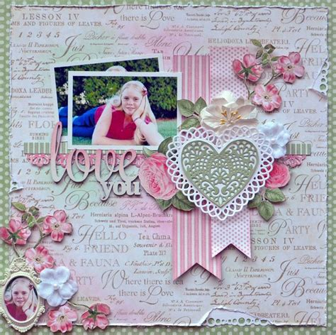 scrapbook layout magazine scrapbook ideas magazine cover graphic 45 botanical