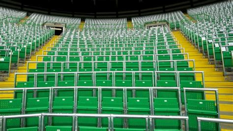 celtic park sections celtic open new safe standing section in win over