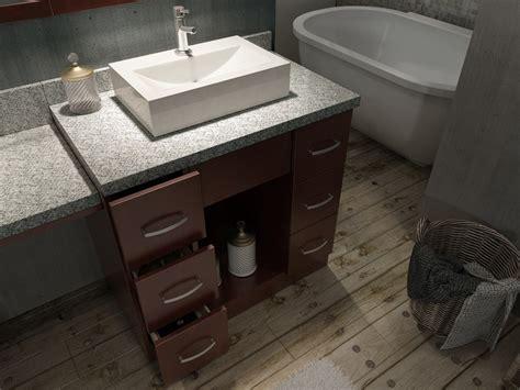 Ariel Vanity Table by Ariel J097d Wlnt Roosevelt 97 Inch Sink Vanity Set In Walnut W Makeup Table J097d Wlnt