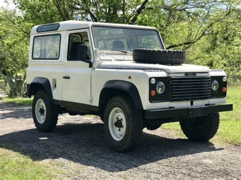 land rover rusty rust free driver for sale land rover defender 1991 for