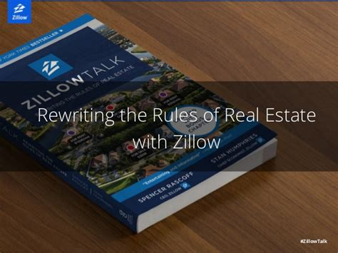 zillow talk rewriting the of real estate with zillow