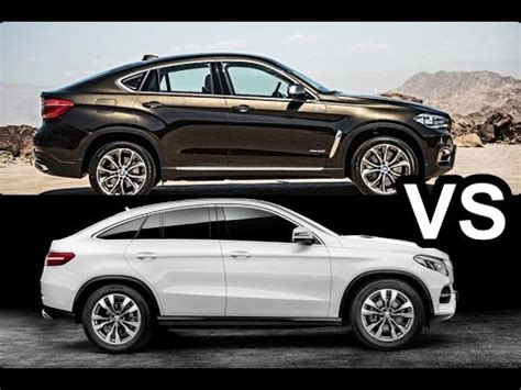 Mercedes X6 by 2015 Bmw X6 Vs 2015 Mercedes Gle Coup 233 Amg Design