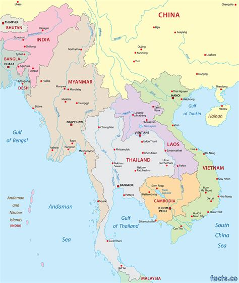 asia map with cities map of cities in asia mexico map