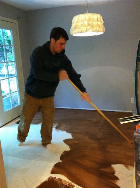 Roost Reimagined: DIY plywood flooring on Pinterest