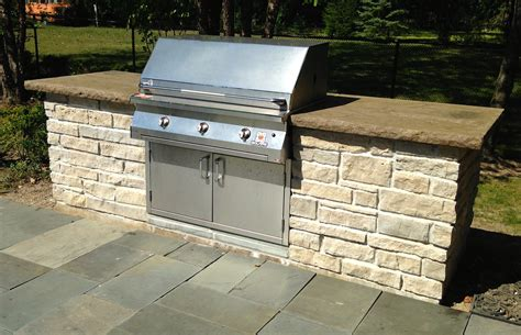 built in grill designed with your patio in mind