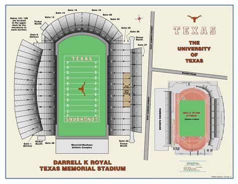 texas stadium map custom graphics charles a reeves jr
