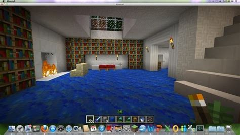 minecraft master bedroom master bedroom in underground house minecraft pinterest