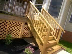 Diy Patio Stairs by Building Deck Steps Video Diy