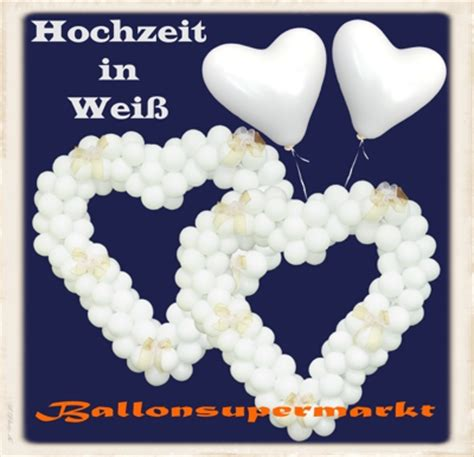Weise Hochzeit by Wei 223 E Herzluftballons Zur Hochzeit Luftballons Hochzeit