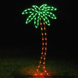 outdoor light up decorations shop lighting specialists 8 83 ft palm tree
