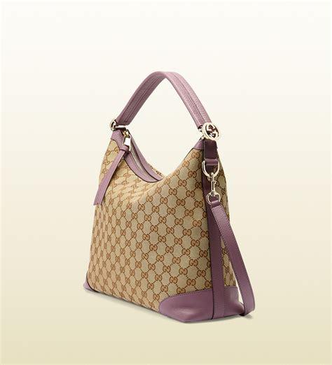 9885 3 Gucci 3 In 1 gucci miss gg original gg canvas hobo in brown lyst
