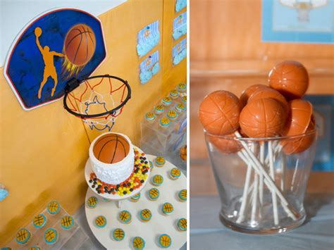 Nba Baby Shower Theme by Slam Dunk Dessert Table Every Detail