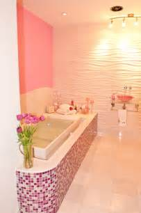 Pink Glitter Bathroom Accessories Pink Glitter Bathroom Contemporary Bathroom Other Metro By Susan Jablon Mosaics