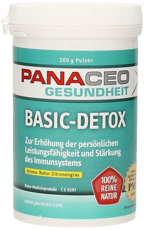 Detox From Soy by Basic Detox Powder Lemongrass Panaceo Vitalabo