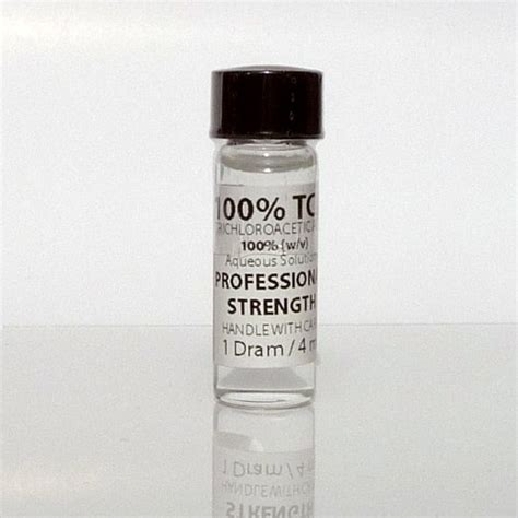trichloroacetic acid for tattoo removal trichloroacetic acid solution tca 100 4 ml mole