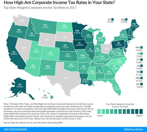 york state tax tables 2017 state corporate income tax rates and brackets for 2017