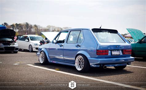 Stanced Vw Rabbit Car Interior Design