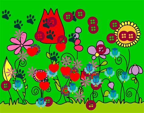 fiori bosco disegno fiori di bosco colorato da c0cc0 il 15 di febbraio