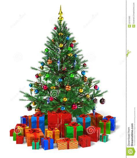 193 rbol de navidad adornado con el mont 243 n de los rect 225 ngulos