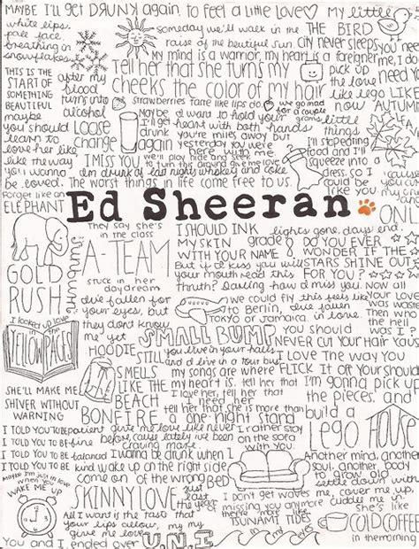 ed sheeran lyrics ed sheeran photograph lyrics tumblr