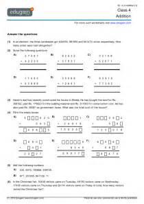 maths worksheets for grade 1 cbse class 4 math