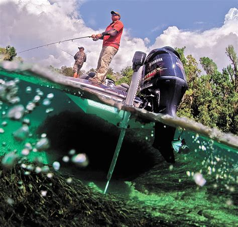 boat supplies tweed heads talon holds anglers in shallow water louisiana sportsman