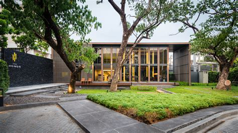 club house the honor clubhouse podesign archdaily
