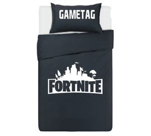 fortnite bedding fortnite personalised black bedding set ps4 xbox pc